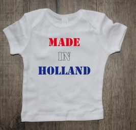 Shirtje made in Holland