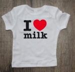 Shirtje I love milk