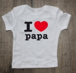 Shirtje I love papa
