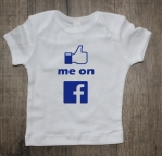 Shirtje like me on facebook
