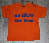 Shirtje no hug for free